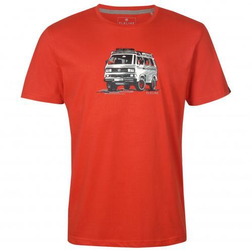 Elkline - Gassenhauer - T-Shirt Gr 3XL;M;S;XL;XXL grau;rot