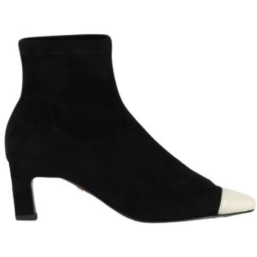 Grey Mer Heeled Boots