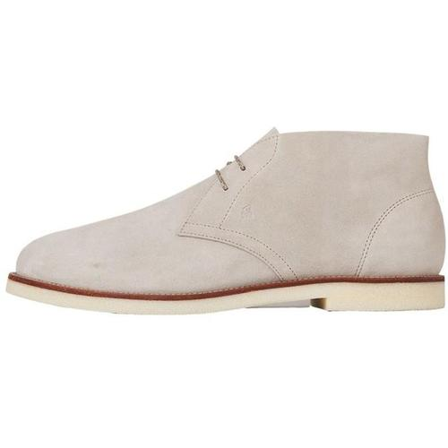 Hogan Business Casual Derby Ankle Boots