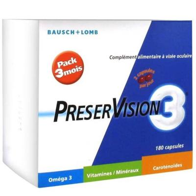 Bausch & Lomb PreserVision 3 + V...