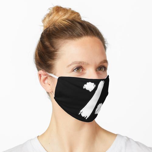 Prozent Weiß Maske