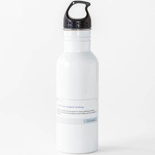 FL Studio Crash Wasserflasche