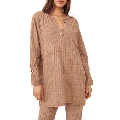 Free People Army Around the Clock Top