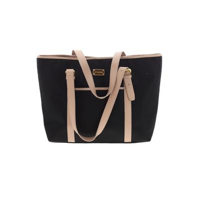 St. John - St. John Tote Bag: Black Color Block Bags