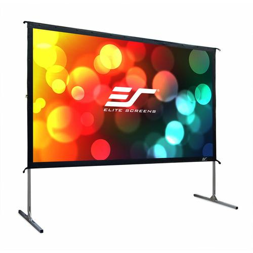 ELITE SCREENS Mobile Outdoor Rahmenleinwand Yard Master 2 266 x 149 cm, 16:9, 120', Rückprojektion