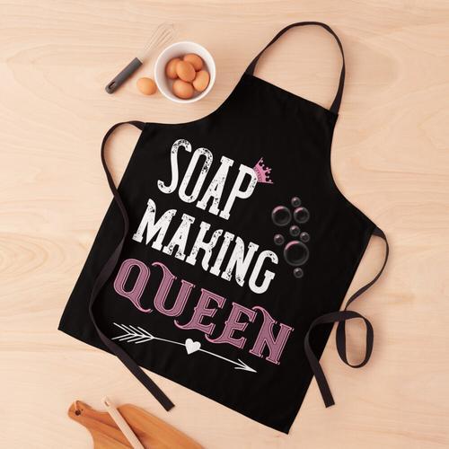 Seifenherstellung Königin Schürze