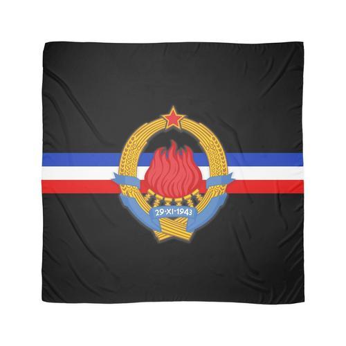Jugoslawien grb Tuch