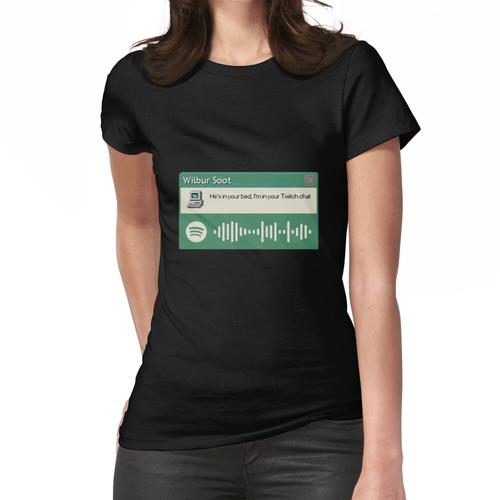 Wibur Soot - Dein neuer Freund - Grün Frauen T-Shirt