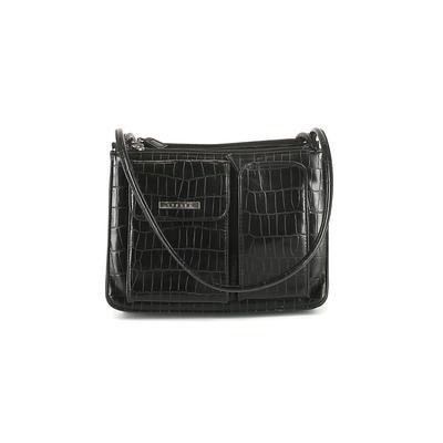 Strada Fashion - Strada Fashion Shoulder Bag: Black Solid Bags