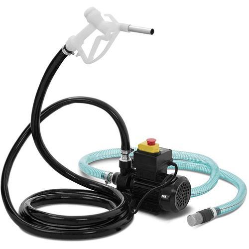 MSW - Dieselpumpe Selbstsaugend Heizölpumpe Ölpumpe Elektrisch Ölabsaugpumpe 40 L/Min