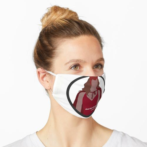 Animierte Wanda in Weiß Maske
