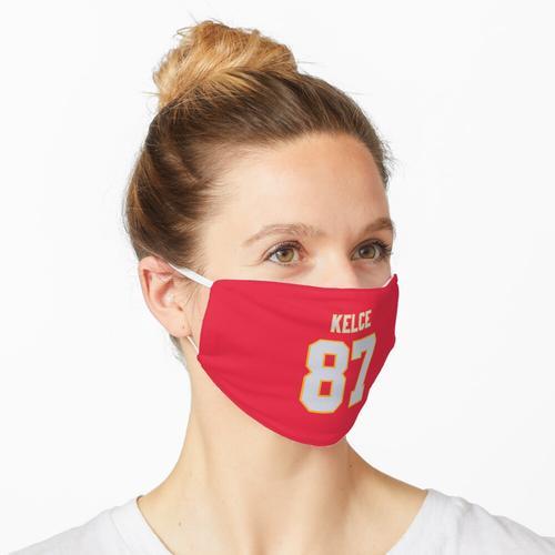 NFL Travis Kelce Trikot der Kansas City Chiefs Maske