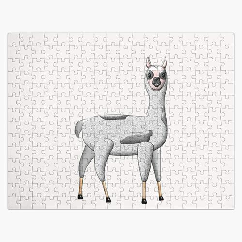 Süßes Lama Puzzle