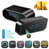 Mini caméra à alarme WIFI 4K san...