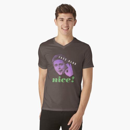 Jazzclub t-shirt:vneck