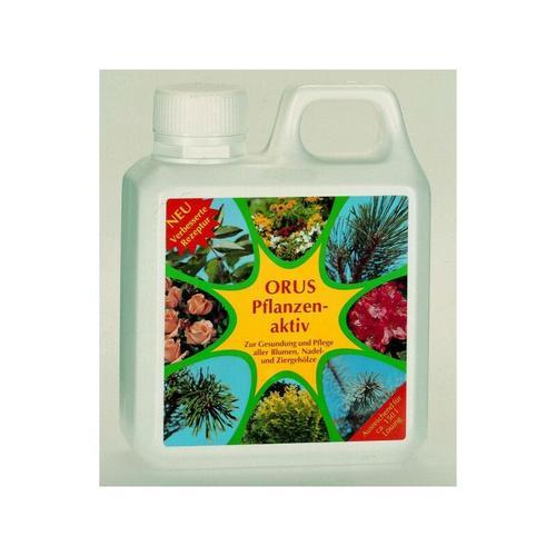 ORUS Pflanzenaktiv 10 ltr. Flüssigdünger für Blumen, Nadel- und Ziergehölze