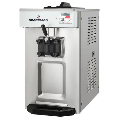 Spaceman 6236A-C Soft Serve Ice Cream Machine w/ (1) 7 1/2 qt Flavor Hopper, 208-230v/1ph