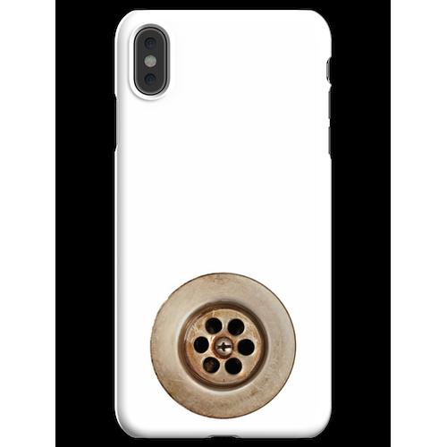 Waschbecken Abfluss iPhone XS Max Handyhülle