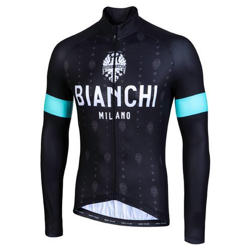 Bianchi Milano - Perticara - Radtrikot Gr 4XL schwarz