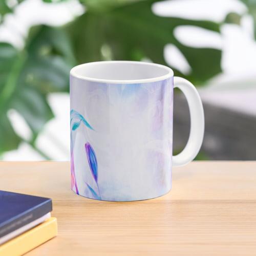 Die Blaue Lilie Tasse