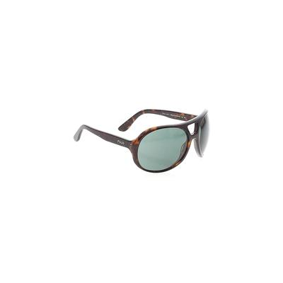 Polo by Ralph Lauren Sunglasses: Brown Solid Accessories