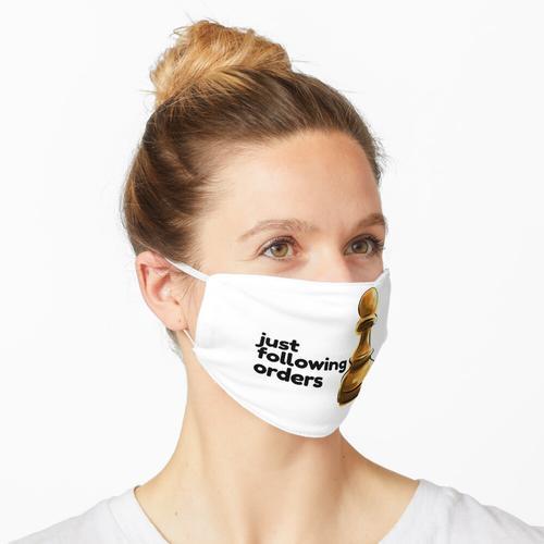 nur nach Bestellungen Maske