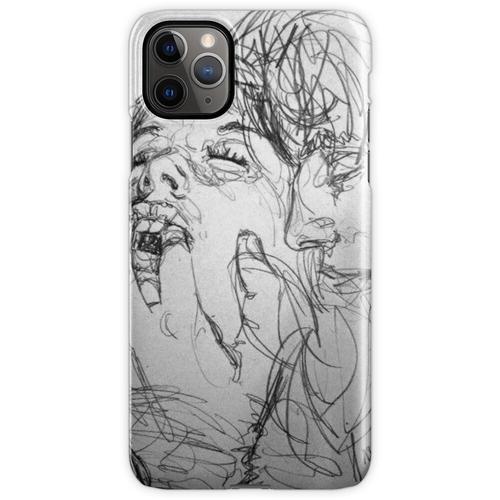 Bleistiftzeichnungen, Zeichnung iPhone 11 Pro Max Handyhülle