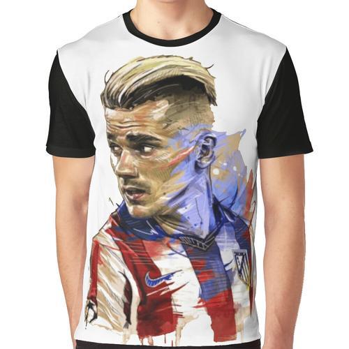Griezmann Grafik T-Shirt
