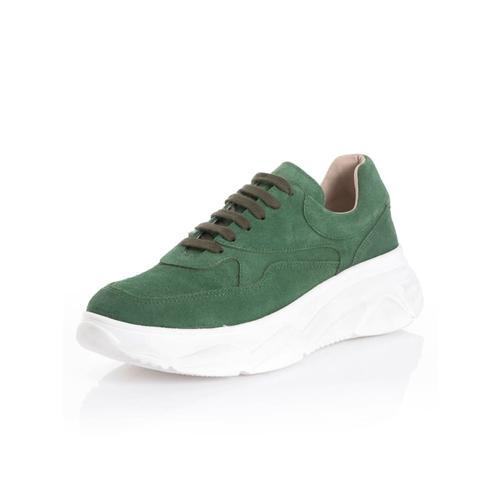 Alba Moda, Sneaker in Trendfarbe, grün