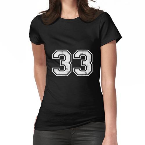 33 TRIKOT Trikots Nummer 33 Trikot Sport Frauen T-Shirt