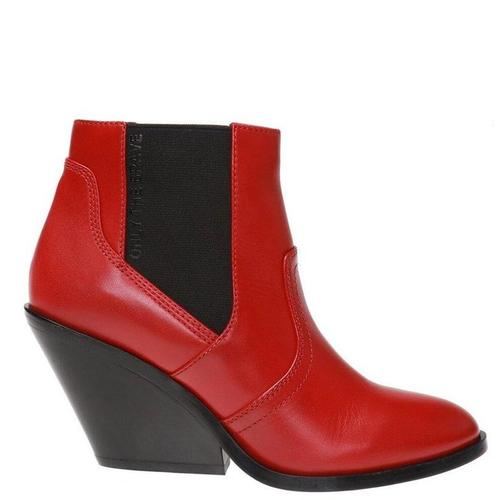 DIESEL 'D-Flamingo' heeled ankle boots