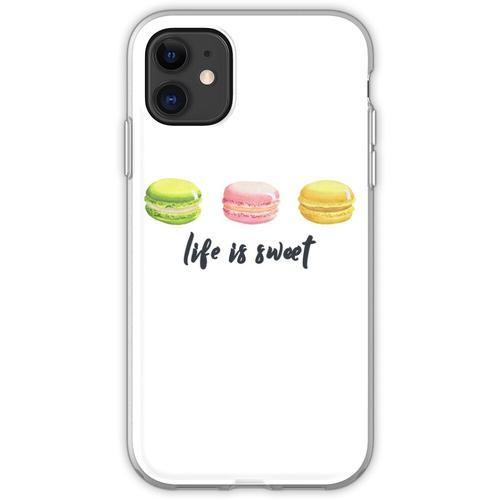 Macarons Liebhaber ∙ Macarons Hemd ∙ Macarons T-Shirt ∙ Ich liebe Macar Flexible Hülle für iPhone 11