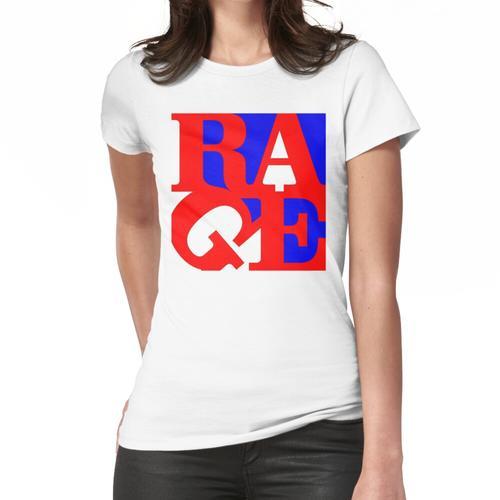 Wut gegen die Maschine - Mit dem Plastikganngster Frauen T-Shirt