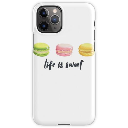 Macarons Liebhaber ∙ Macarons Hemd ∙ Macarons T-Shirt ∙ Ich liebe Macarons iPhone 11 Pro Handyhülle