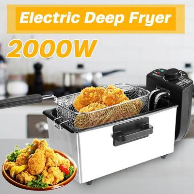 Friteuse électrique robuste en a...