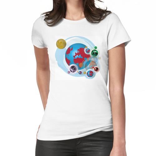 Satelliten Frauen T-Shirt