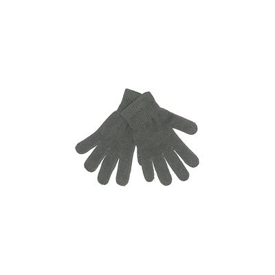 Gloves: Gray Solid Accessories