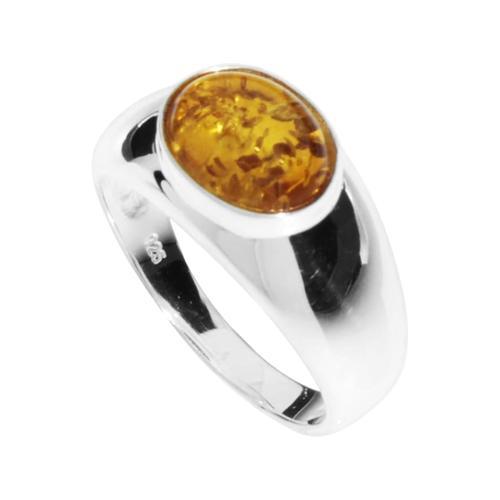 Ring - Melle Silber 925/000 Bernstein OSTSEE-SCHMUCK silber