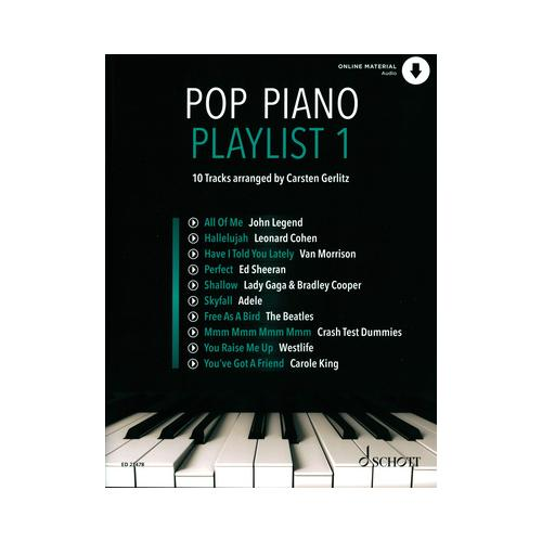 Schott Pop Piano Playlist 1