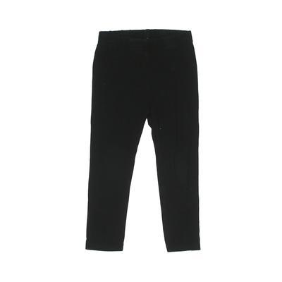 Baby Gap Leggings: Black Solid Bottoms - Size 3