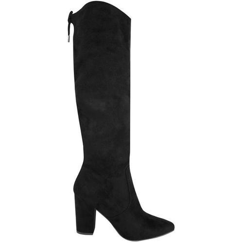 Balenciaga High risky boots in suede