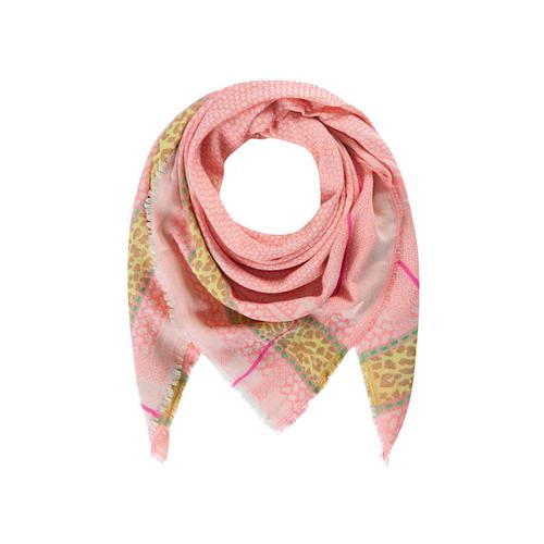Tuch mit exklusivem Jacquard-Muster Codello pink