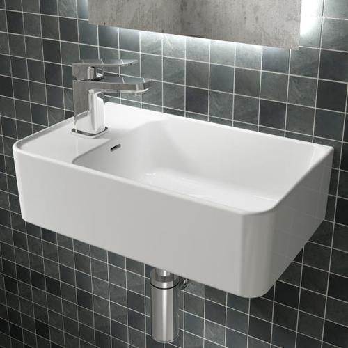 Ideal Standard Strada II Handwaschbecken B: 45 T: 27 cm, Becken rechts weiß T299501