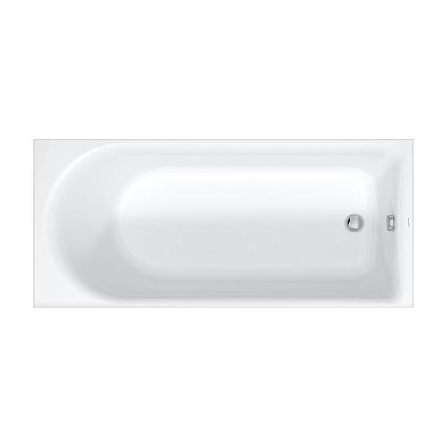Duravit D-Neo Rechteck-Badewanne L: 180 B: 80 H: 46,5 cm 700475000000000