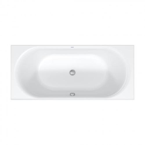 Duravit D-Neo Rechteck-Badewanne L: 180 B: 80 H: 46,5 cm 700476000000000