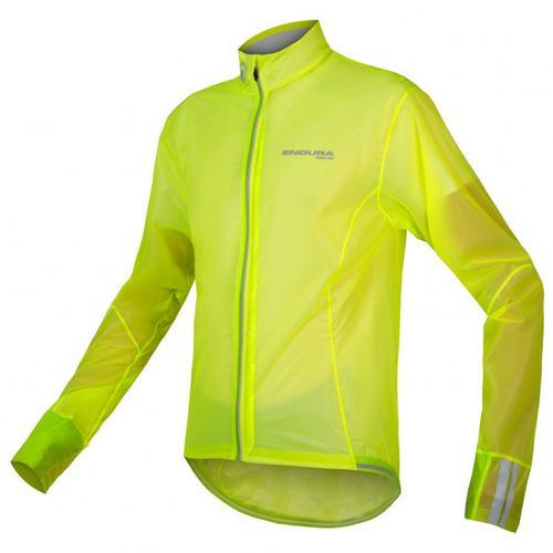 Endura - FS260-Pro Adrenaline Race Cape II - Fahrradjacke Gr S grün/gelb