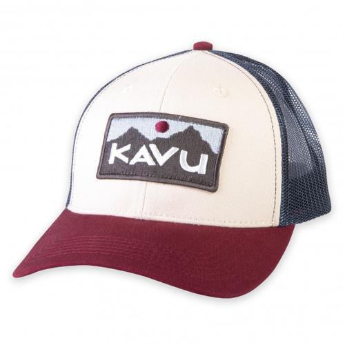KAVU - Above Standard - Cap Gr One Size weiß/rot/grau