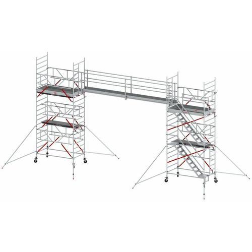 Steg Einzeln 2 Geländer 6m - Altrex