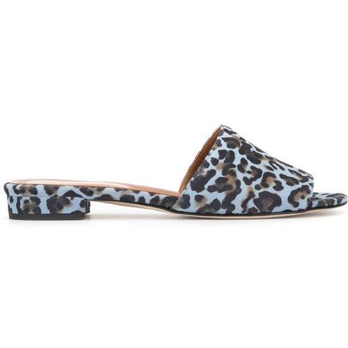 Paris Texas Sandalen mit Leoparden-Print