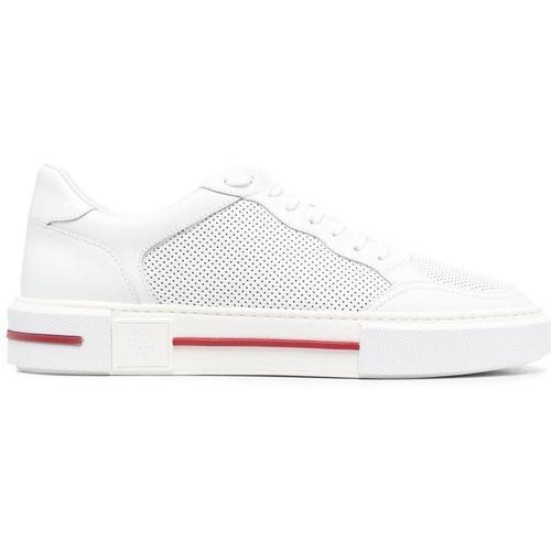 Eleventy Sneakers mit Streifen